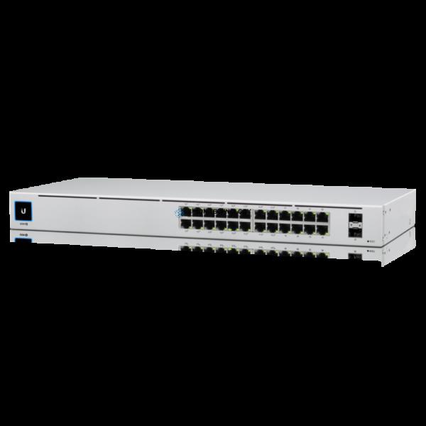 Коммутаторы Ubiquiti UbiQuti UniFi 24-Port PoE Switch (USW-24-POE)