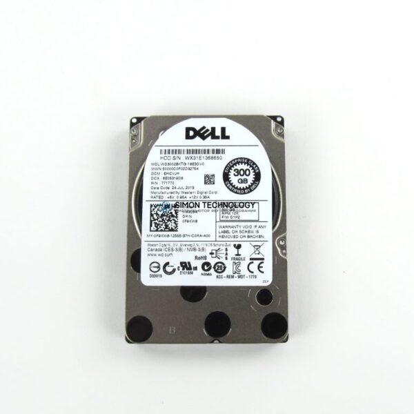 """HDD Dell 300GB 10K 6Gbps 2.5"""" SAS HDD (WD3002BKTG)"""