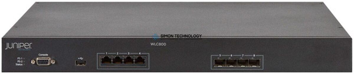 Коммутатор Juniper Wireless LAN Controller WLC800 - Netzwerk-Verwaltungsger?t - 16 MAPs (verwaltete Zugrif unkte) (WLC800R)