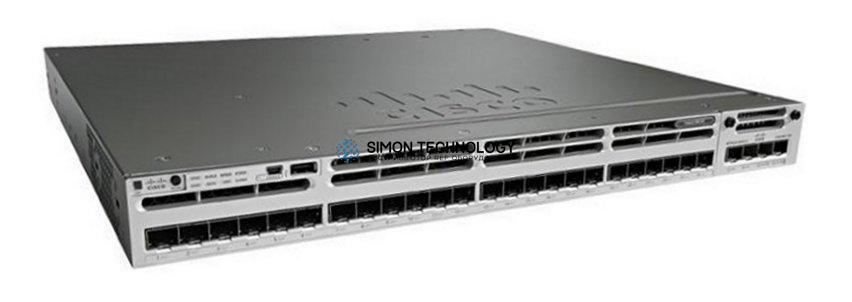 Коммутатор Cisco Cisco Catalyst 3850 24 Port GE SFP IP Base (WS-C3850-24S-S)
