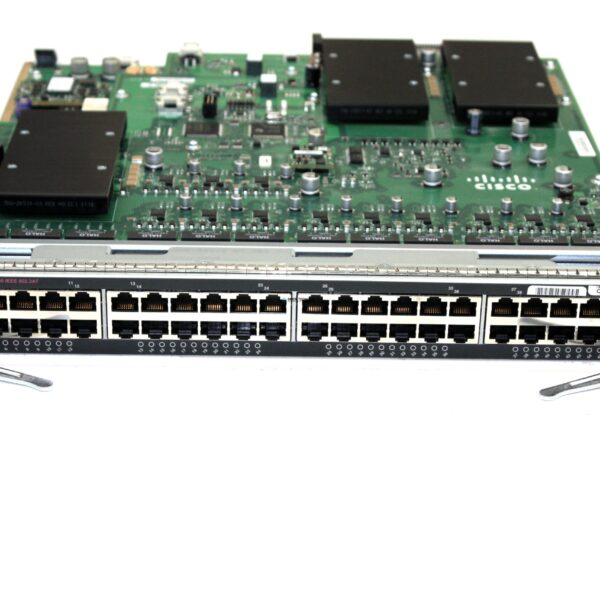 Модуль Cisco CISCO Cat6500 48-Port PoE+ ready 10/100/1000 (WS-X6148E-GE-45AT)