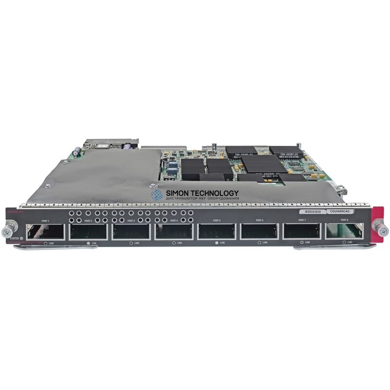 Модуль Cisco Switch Module 8x X2 10GbE Catalyst 6500 Series - (WS-X6708-10GE-3C)