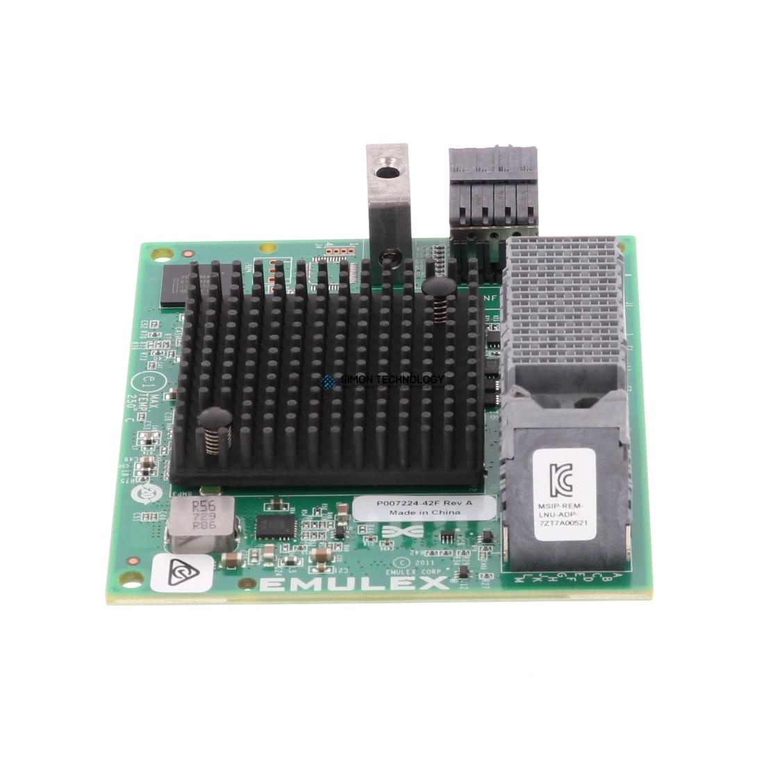 Lenovo ThinkSystem Emulex LPm16002B-L Mezz 16Gb 2-Port (00YK563)