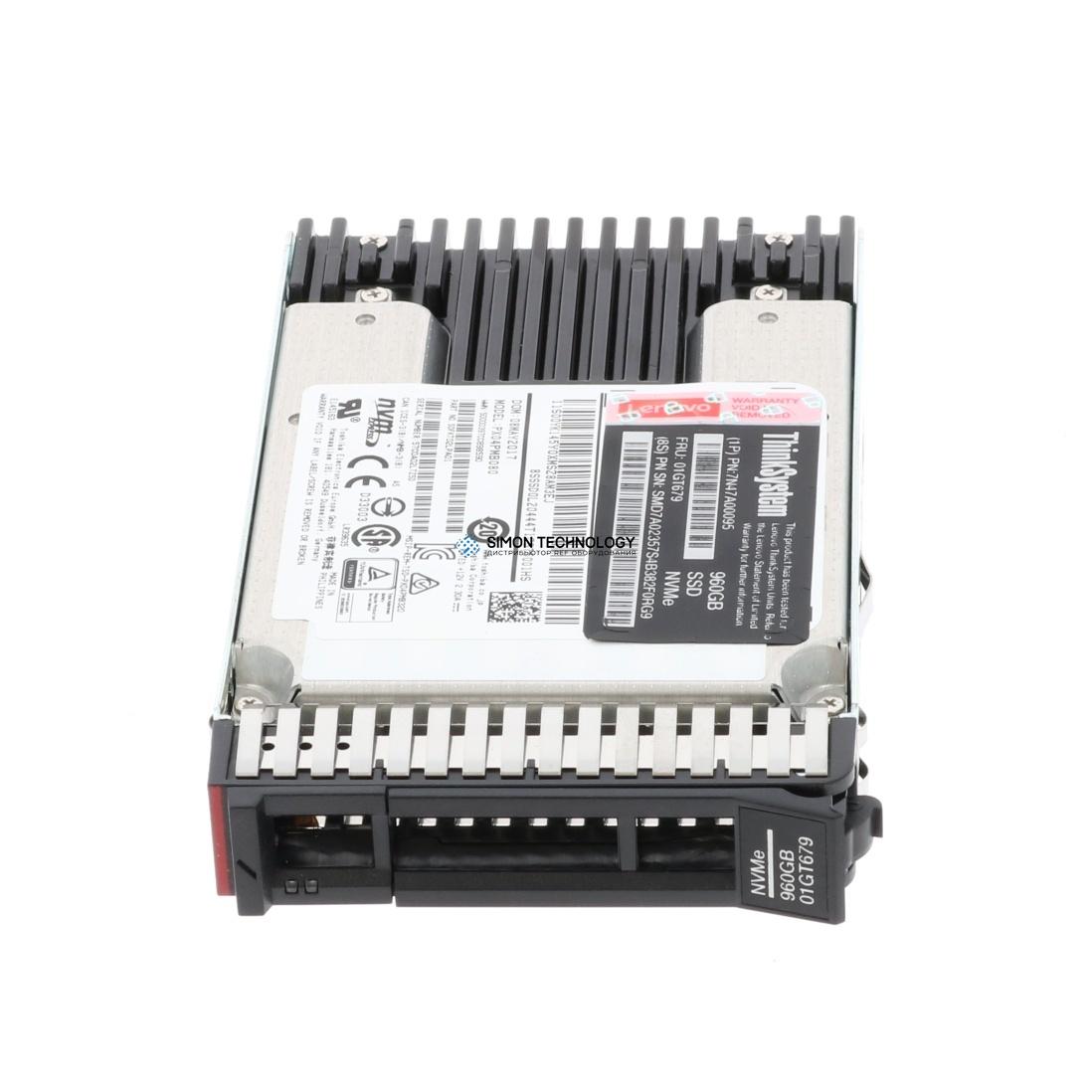 SSD Lenovo ThinkSystem U.2 PX04PMB 960GB Mainstream NVMe (01GT679)