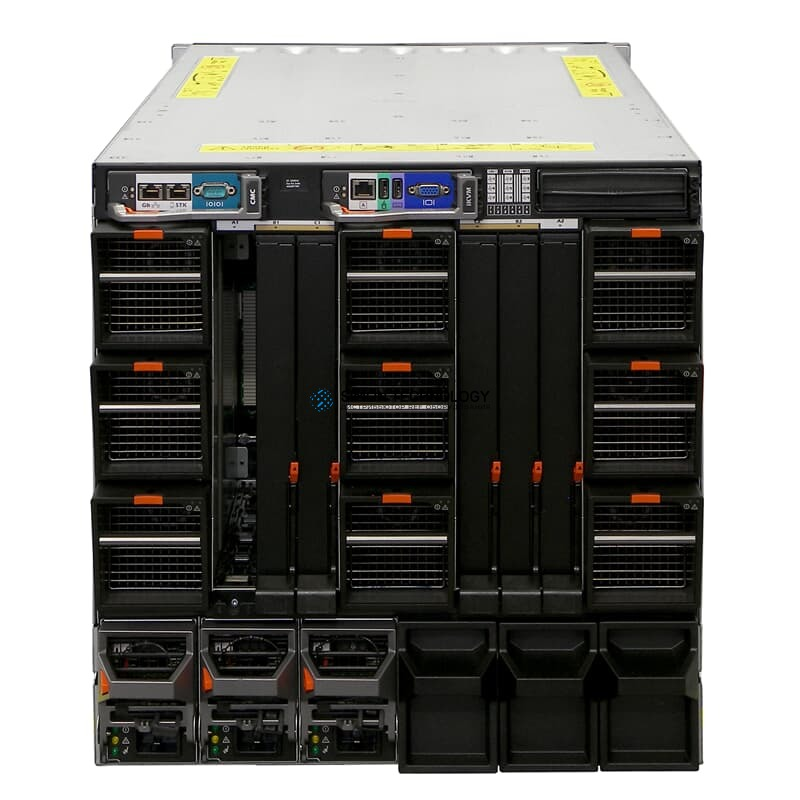 Сервер Dell Blade Enclosure PowerEdge M1000e v1.1 3x 2700W 1x CMC (02DXH0)