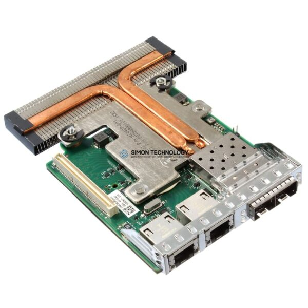 Сетевая карта Dell Intel X710/I350 rack Network Daughter Card (rNDC) 4Port 1/10GbE - (06VDPG)