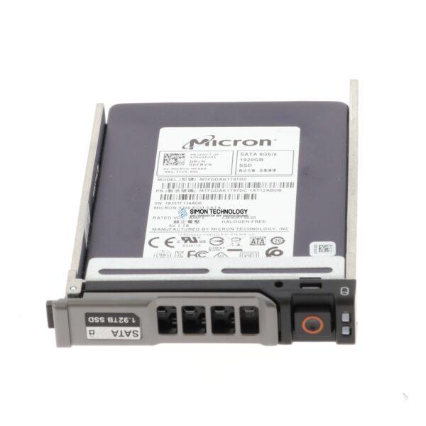SSD Dell 1.92TB SSD 2.5 SATA 6G MTFDDAK1T9TDC (0CRVG)