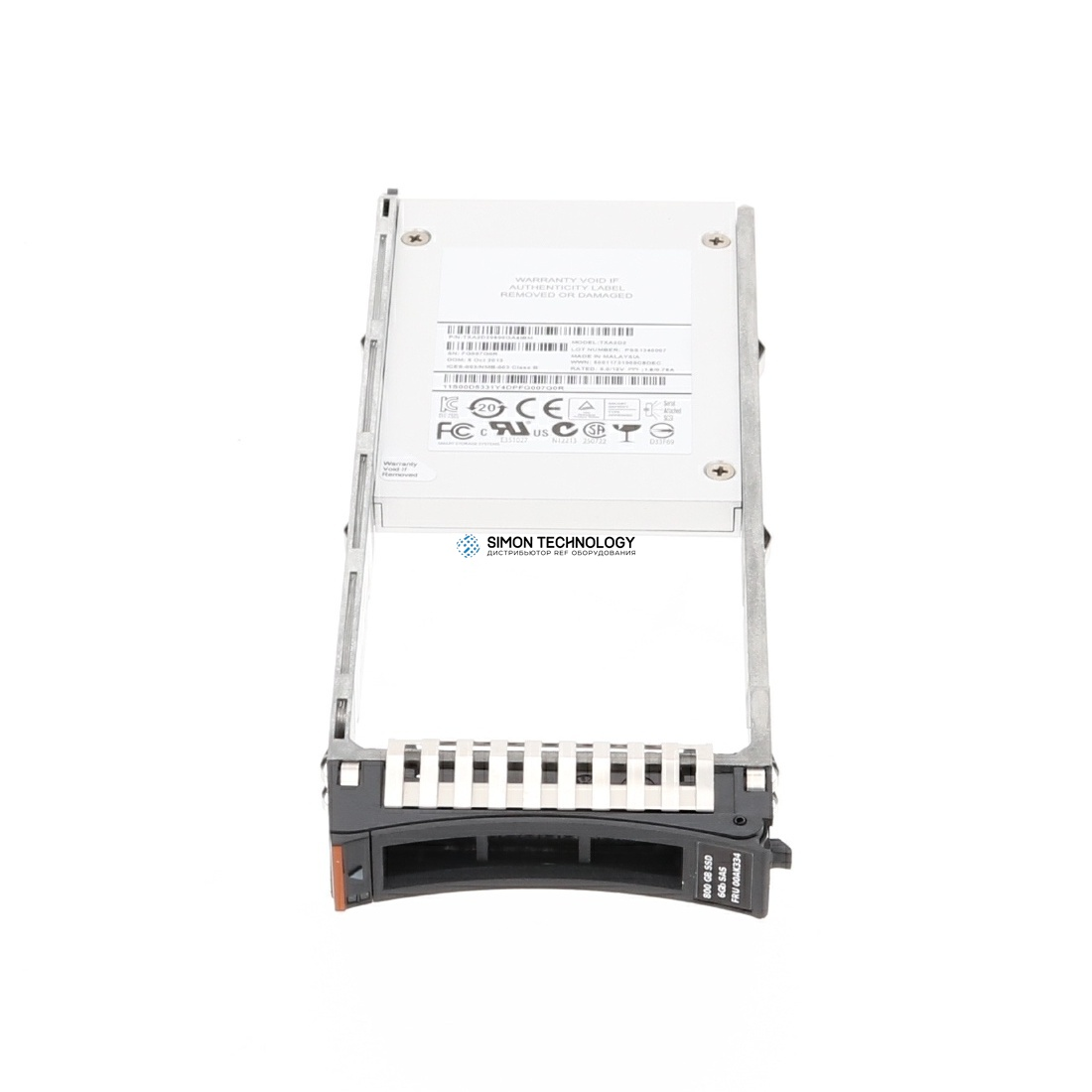 SSD IBM 800GB 2.5 Inch Flash Drive (2078AC95)