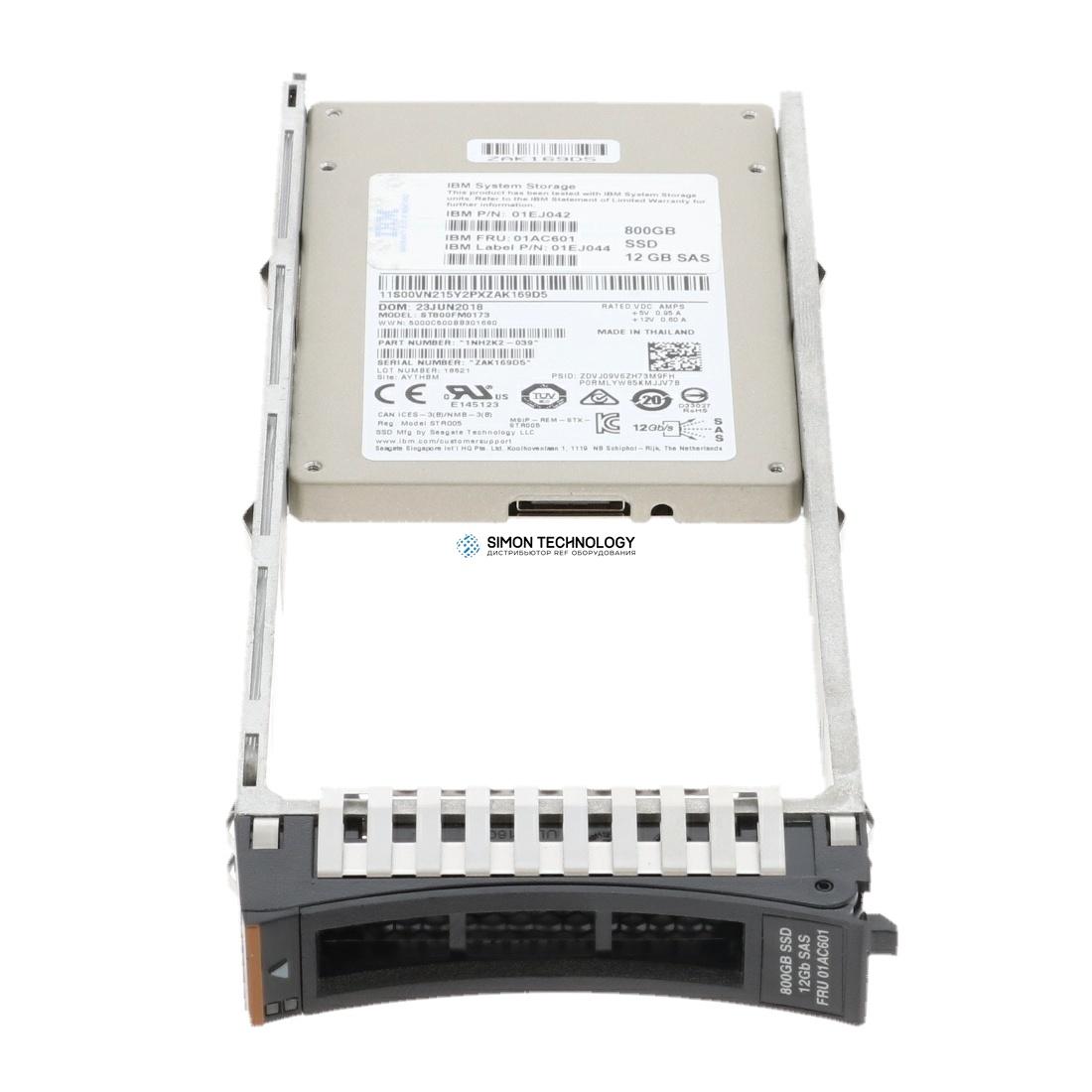 SSD IBM 800GB 2.5 INCH FLASH DRIVE (2078AC9D)