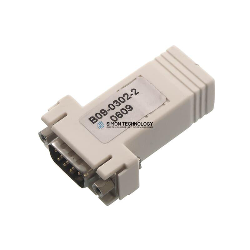 Адаптер HP Serial Adapter RJ45-DB9 DCE Male 1 Pack1 Pack , (393986-001)