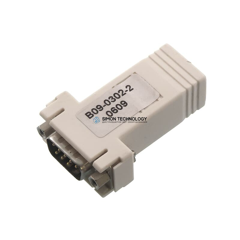 Адаптер HP Serial Adapter RJ45-DB9 DCE Male 1 Pack1 Pack , (393986-001)