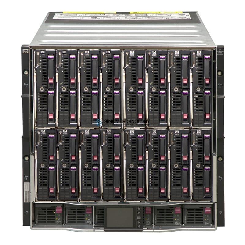 Сервер HPE C7000 med BLADES - 2xDL620 G7 2xX7560/32GB (507016-B21-CTO2)