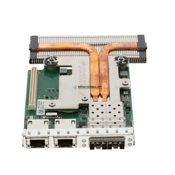 Контроллер Dell X710 2x10GB SFP+ i350 2x1GB NDC (555-BCKO)