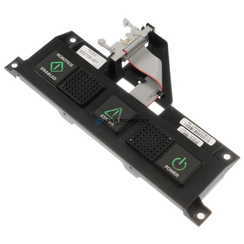 HP Library Operator Control Panel Switch StoreEver ESL G3 Scalar i6000 - 652725-001 (652708-001)