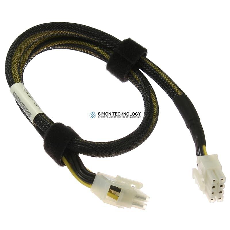 Кабель HP Power Cable PCI-E Riser 8 Pin SL250s Gen8 Left - (663724-001)