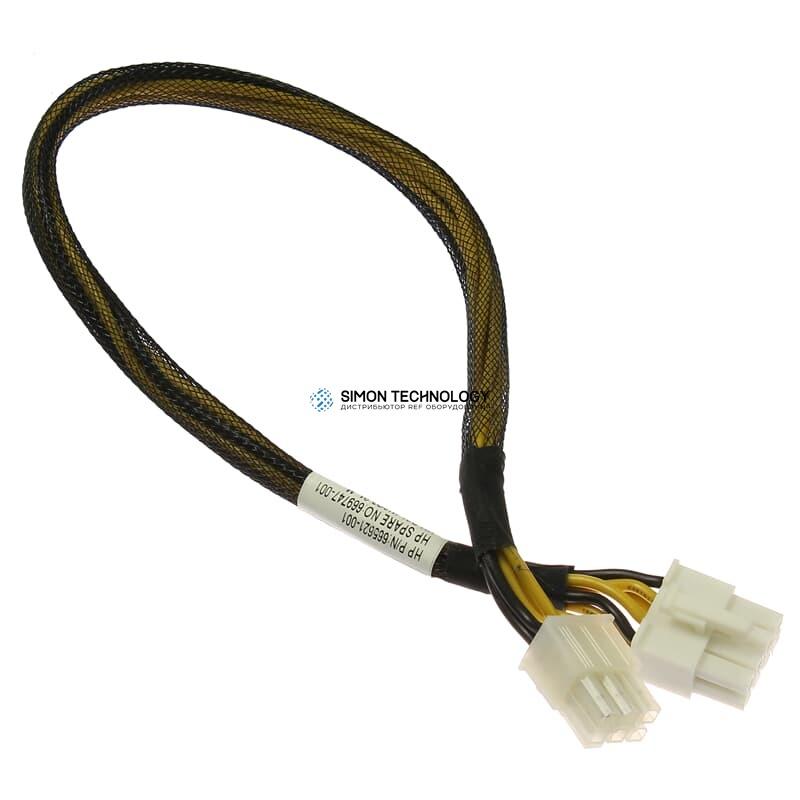 Кабель HP Power Cable HDD Backplane SL250s Gen8 Left - (665621-001)