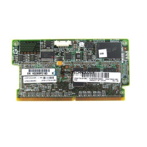 Контроллер HP Smart Array P721m 8-CH 2GB SAS 6G PCI-E (673610-001)