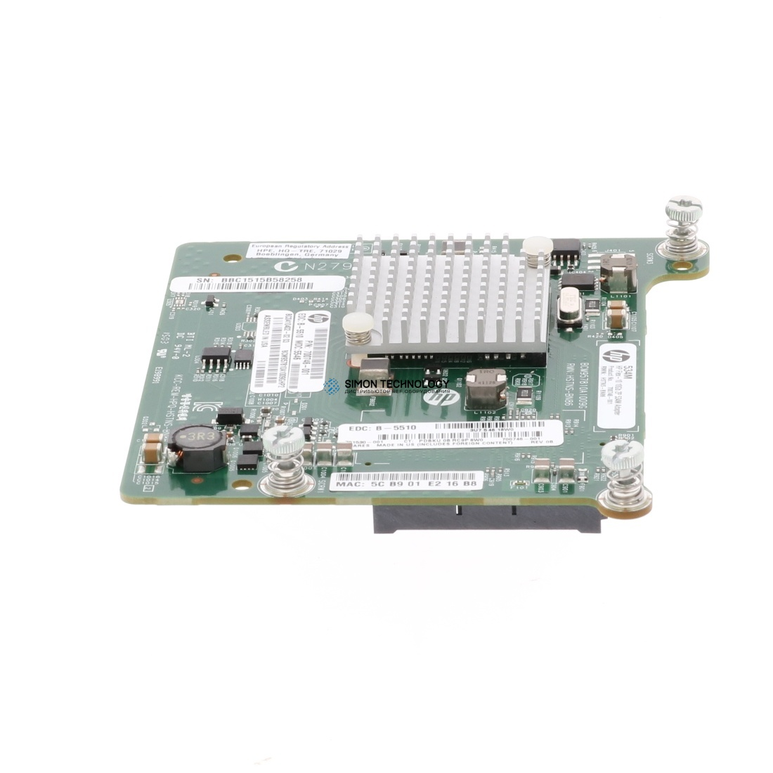 HP FlexFabric 10GB 2-Port 534M Adapter (701530-001)