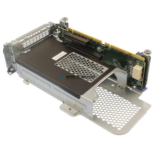 Карта расширения HP PCI-E Riser Kit 1x 16x 1x 8x DL380p Gen8 - (728537-001)