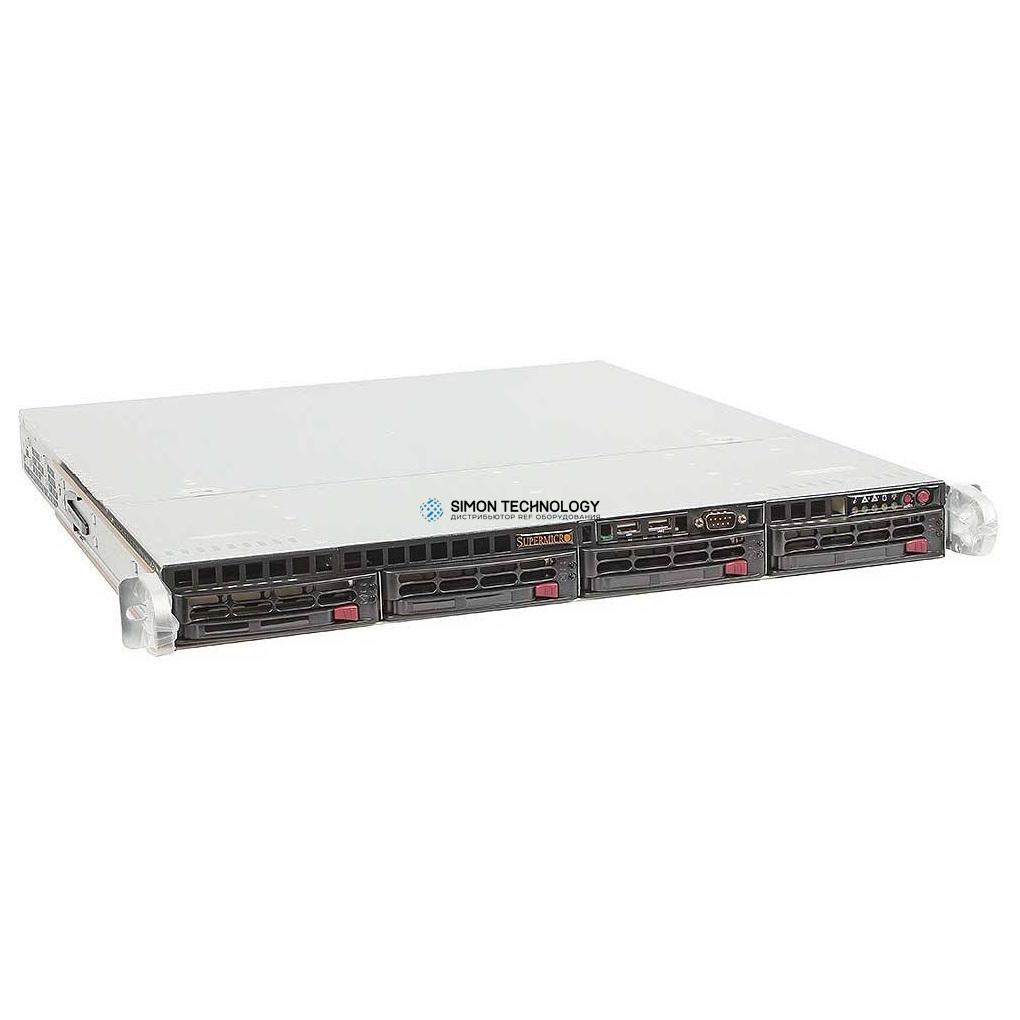 Сервер Supermicro 2xXeon 5502/80GB RAM/4x146GB 3.5'/1xPSU (813MTQ-600CB)