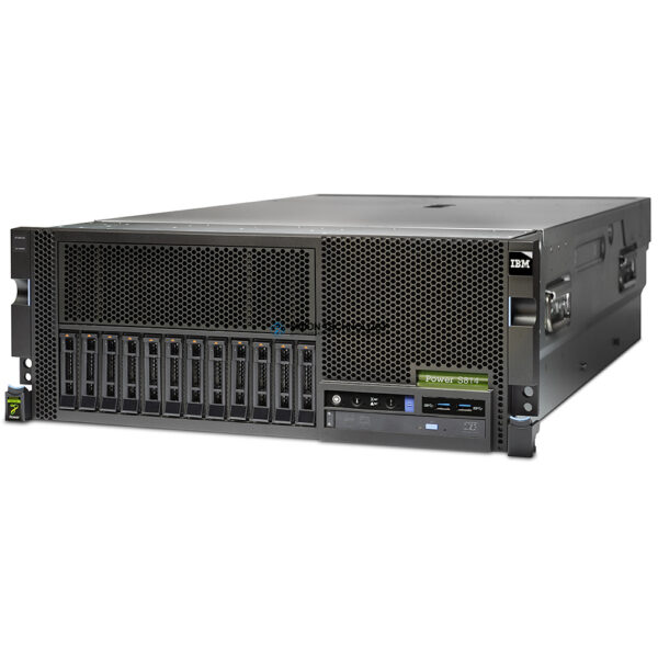 Сервер IBM S814 Server - 6-Core - 4 x OS - Un-Ltd Users - P10 (8286-41A-EPX0-4-UNLT)