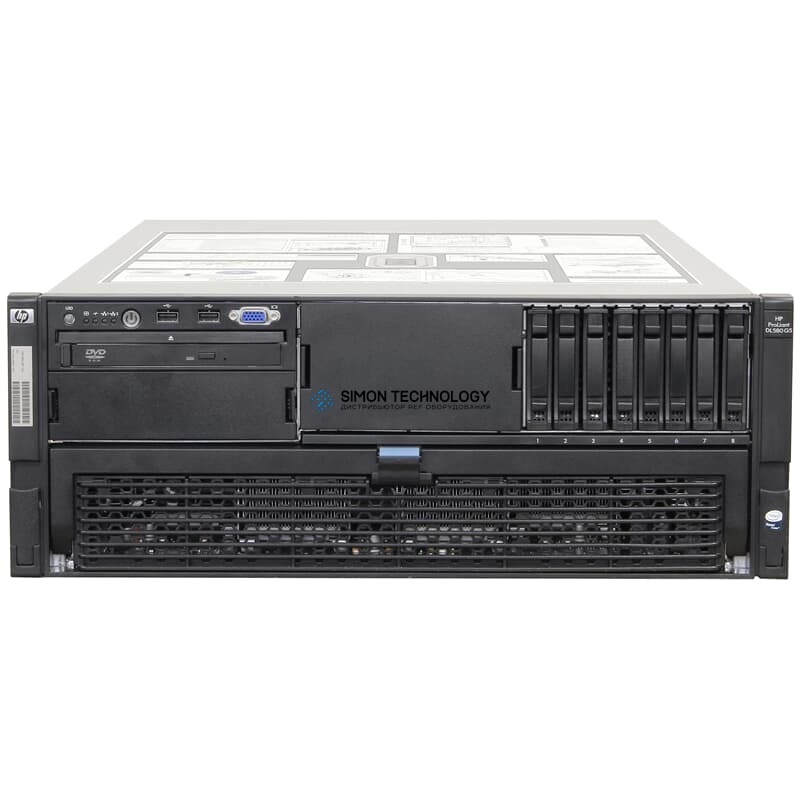 Сервер HP Server ProLiant 4x 6C Xeon X7460 2,66GHz 128GB DVD (DL580 G5)