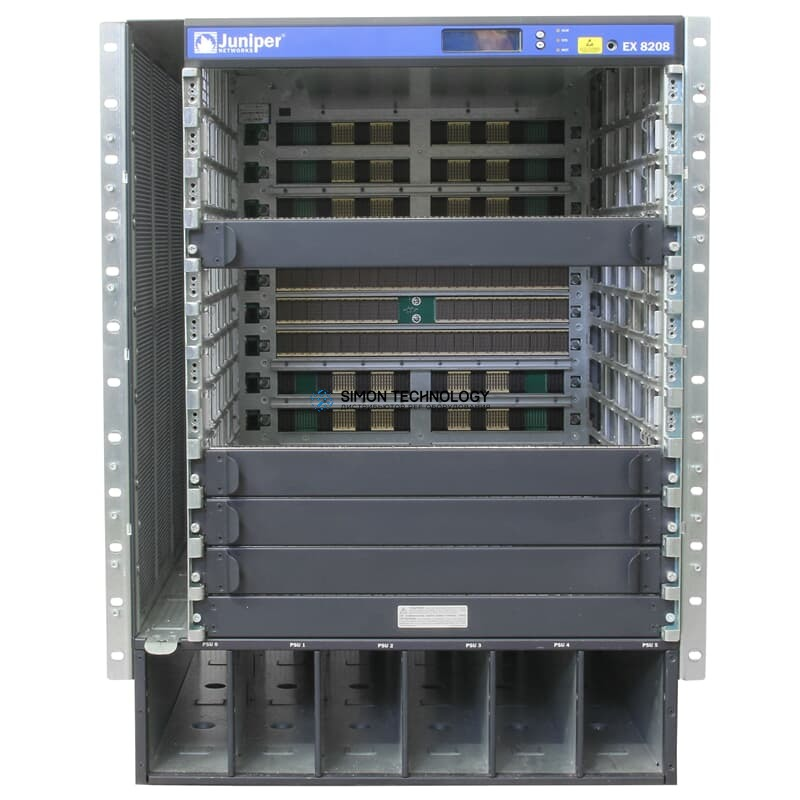 Juniper Switch EX8208 Chassis w/o FanTray - (EX8208-CHAS-S)