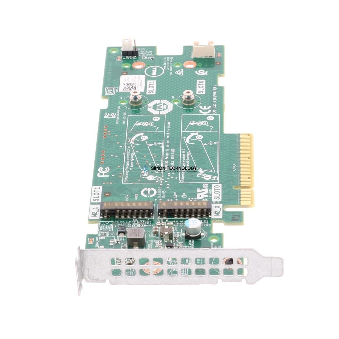 Контроллер Dell Storage Adapter BOSS PCI-E 2xM.2 LP (K4D64)