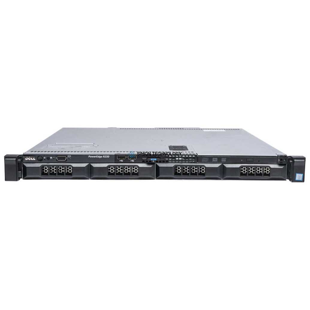 Сервер Dell PowerEdge R230 4x3.5 FRVY0 (PER230-LFF-4-FRVY0)
