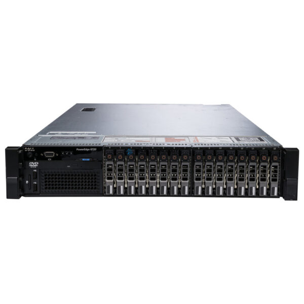 Сервер Dell PowerEdge R720 16x2.5 8RW36 Ask for custom qoute (PER720-SFF-16-8RW36)