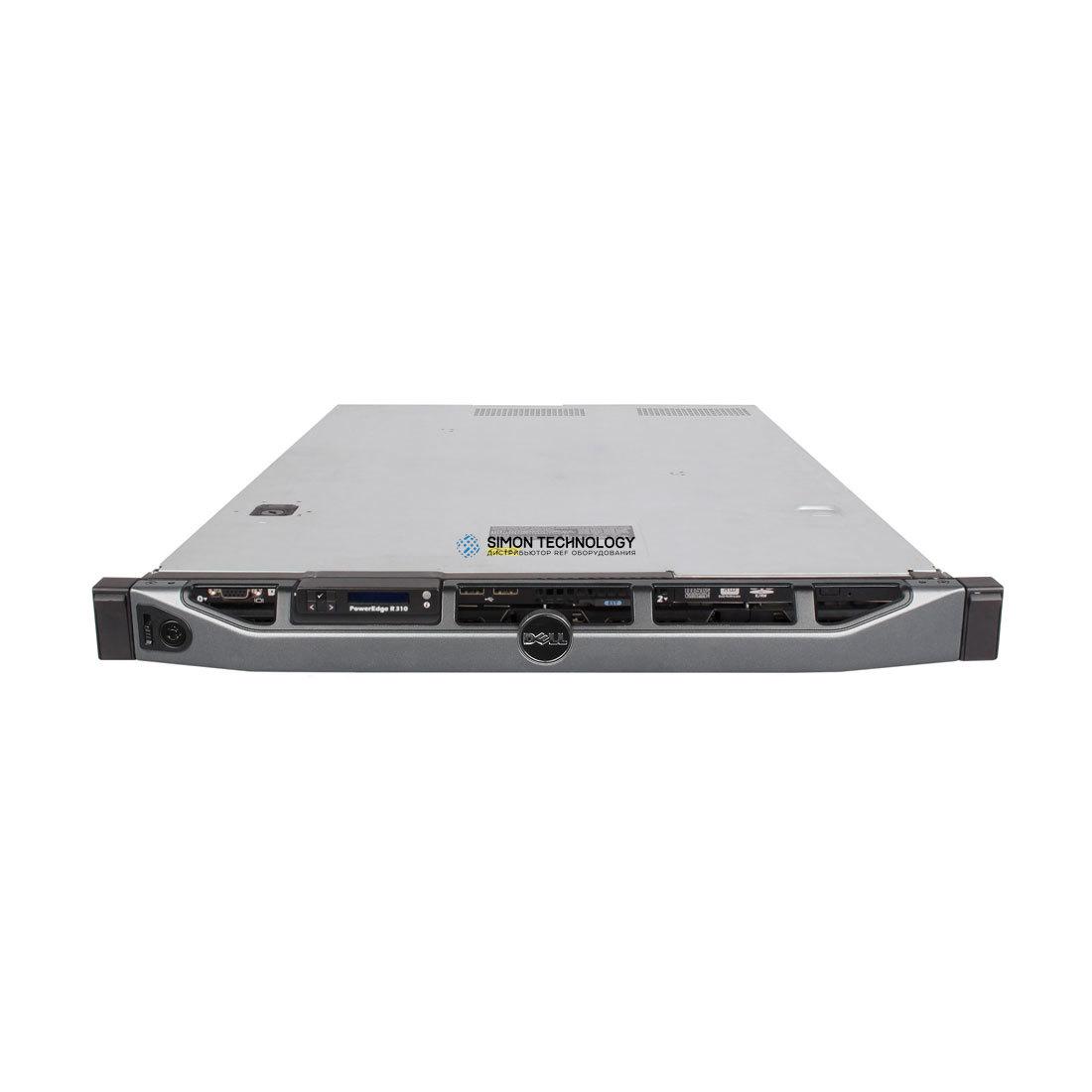Сервер Dell PER310 1*X3430 4GB PERC 6I 4*LFF NHP DVD (R310 X3430 6I)