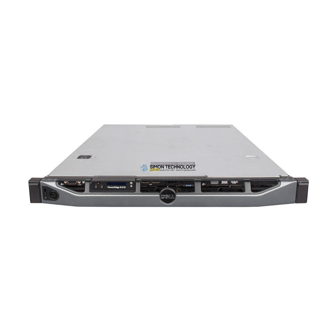 Сервер Dell PER310 1* X3440 2GB PERC 6I 4*LFF 1*PSU DVD (R310 X3440 2GB)