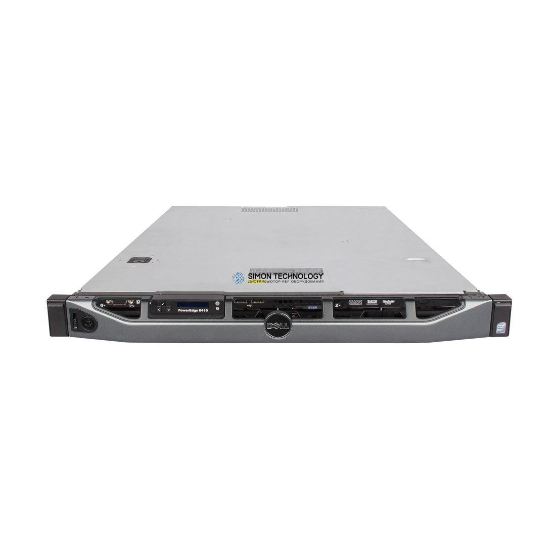 Сервер Dell PER410 X5650 2P 16GB PERC6I 1*PSU 4*LFF DVD-RW (R410-X5650)