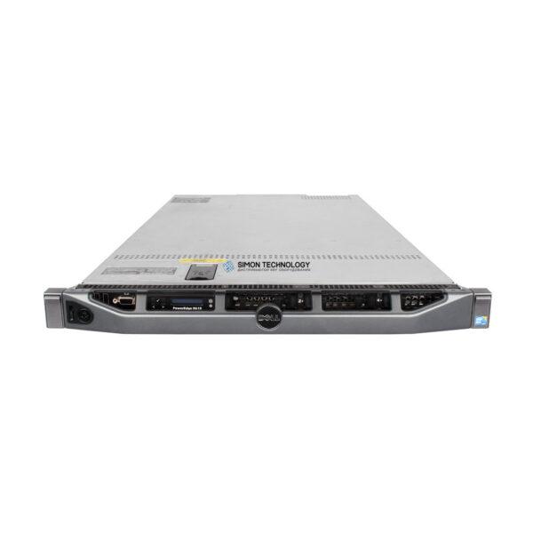 Сервер Dell PER610 X5650 2P 12GB-R H700 4 SFF 2X 460W PS SERVER (R610-X5650)
