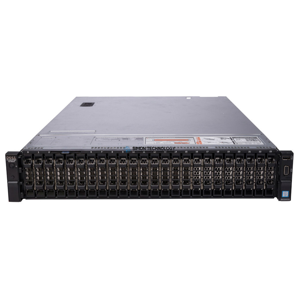 Сервер Dell PowerEdge R730XD 24x2.5 2x2.5 599V5 (R730XD-SFF-26-599V5)