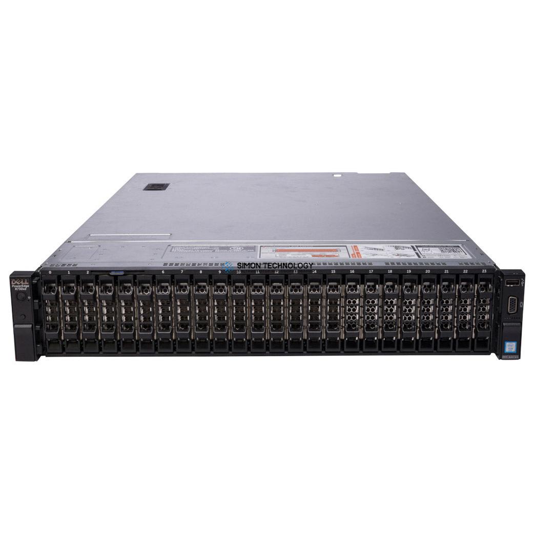 Сервер Dell PowerEdge R730XD 24x2.5 2x2.5 WCJNT (R730XD-SFF-26-WCJNT)