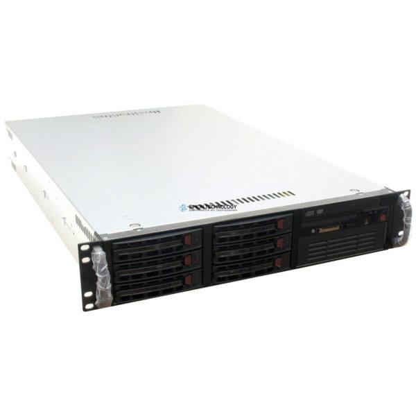 Сервер Supermicro 2xOPTERON 2380/32GB RAM/6x146GB 3.5'/ (SC823S-R500RC)