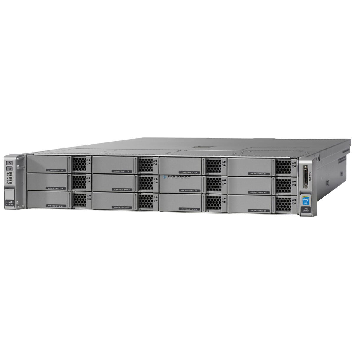 Сервер Cisco UCS C240 M4 LFF 12 HD w/o CPU,mem,HD,PCIe (UCSC-C240-M4L)