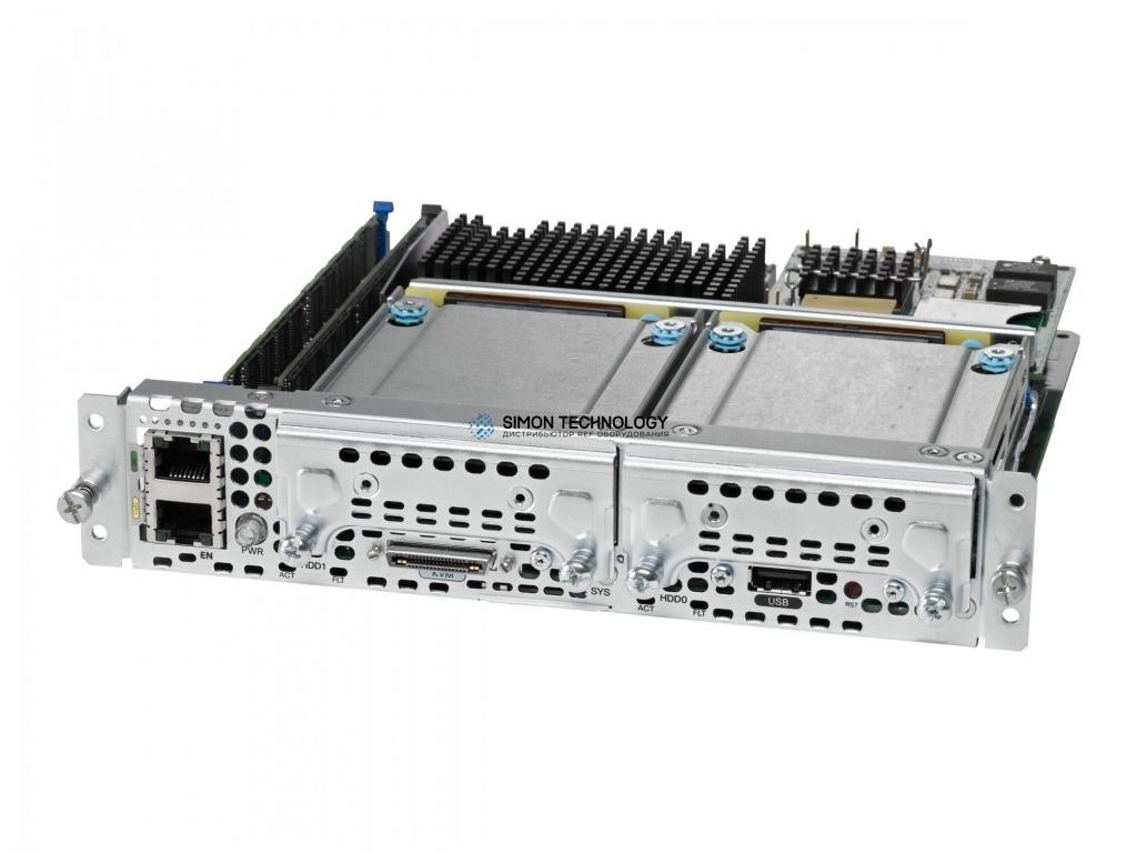 Модуль Cisco UCS-E,SingleWide,4Cor CPU,2x8GB SD,1x8GB (UCS-E140S-M2/K9)