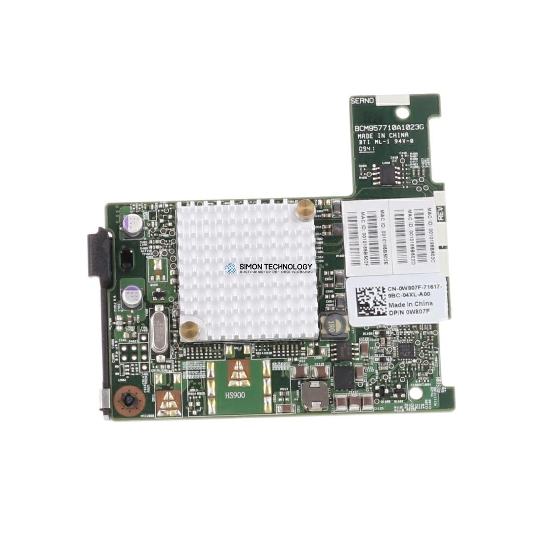 Dell BC57710 10GB 2PORT MEZZ (W807F)