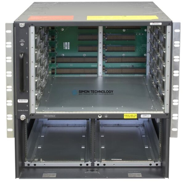 Cisco Switch Chassis 6506-E w/o PSU - (WS-C6500 Series)