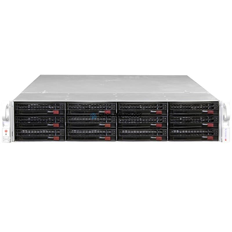 Сервер Supermicro Super Server 2x 8C Xeon E5-2650 v2 2,6GHz 64GB 8xLFF ASR-71605 (X9DRi-LN4F+ Rev. 1.1)