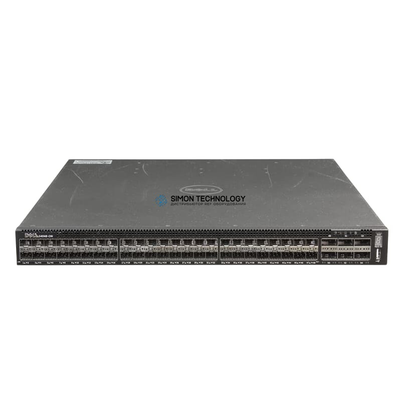 Коммутатор Dell Switch Networking 48x SFP+ 10GbE 6x QSFP+ 40GbE - (0KTM6X)