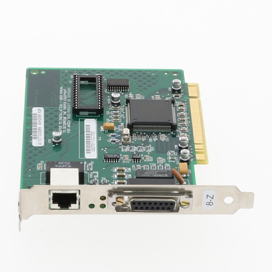 Сетевая карта IBM Ethernet adapter PCI (11G8138)