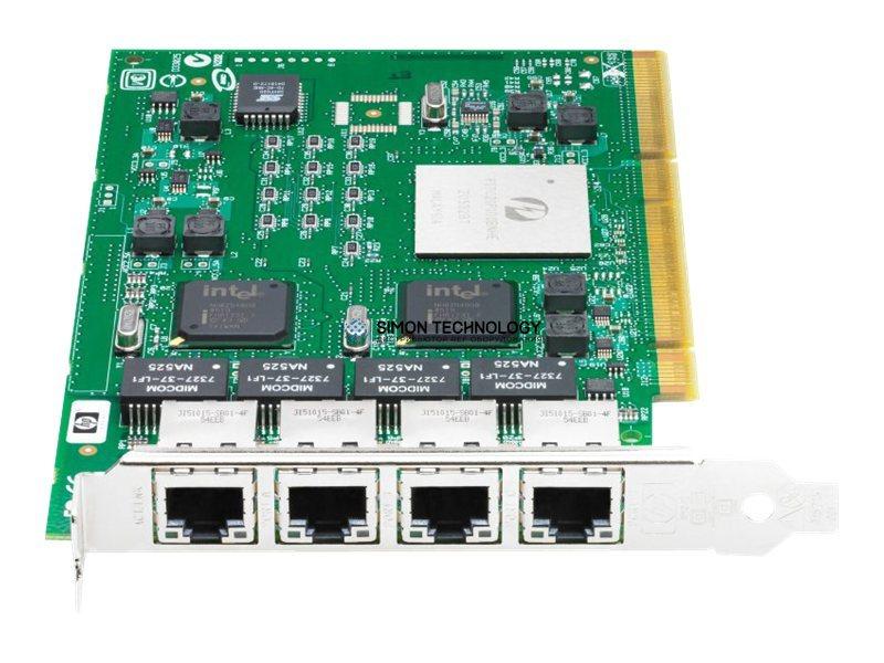 Сетевая карта HPE HP NC340T PCI-X 4-port 1000T Gigabit Server Adapter (391661-B21)