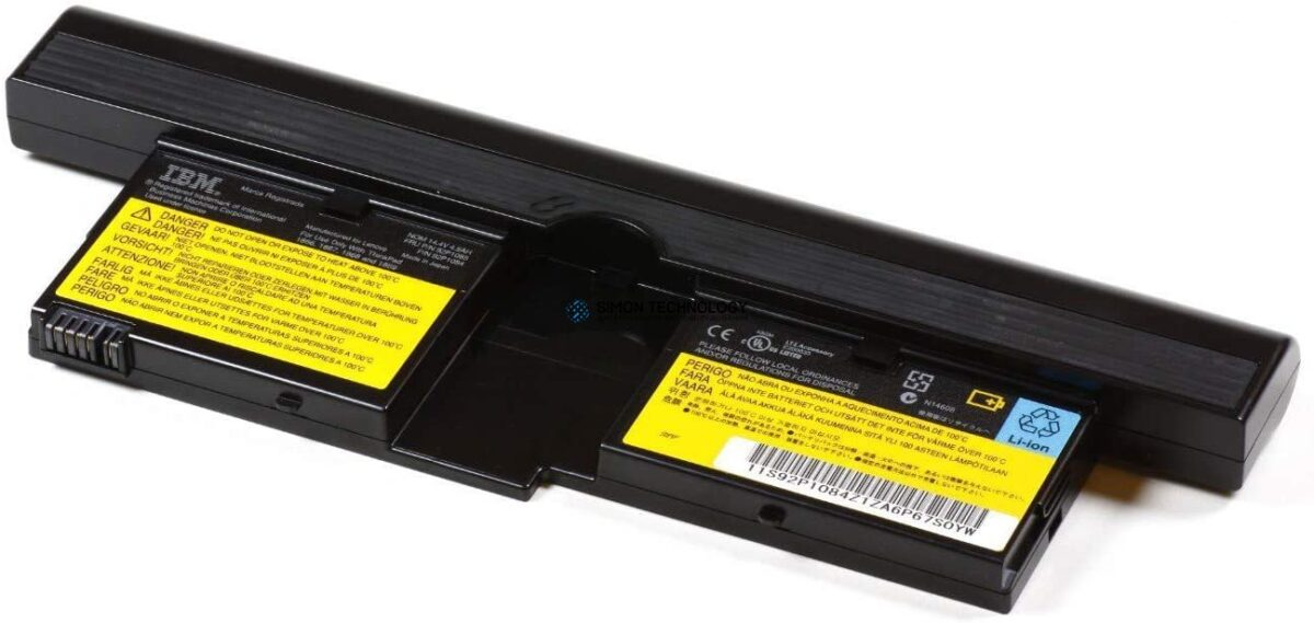 Батарея Lenovo Battery for X41 Tablet 8 Cell Battery 14.4V 4.5AH 65WH - FRU (42T4610)