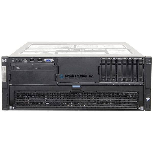 Сервер HP DL580 G5 E7430 2.13GHZ QC 2P 4GB RACK SVR (487365-421)