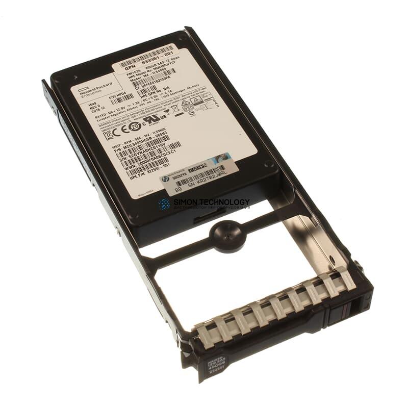 SSD HP SAS-SSD 400GB SAS 12G SFF - (5697-3141)