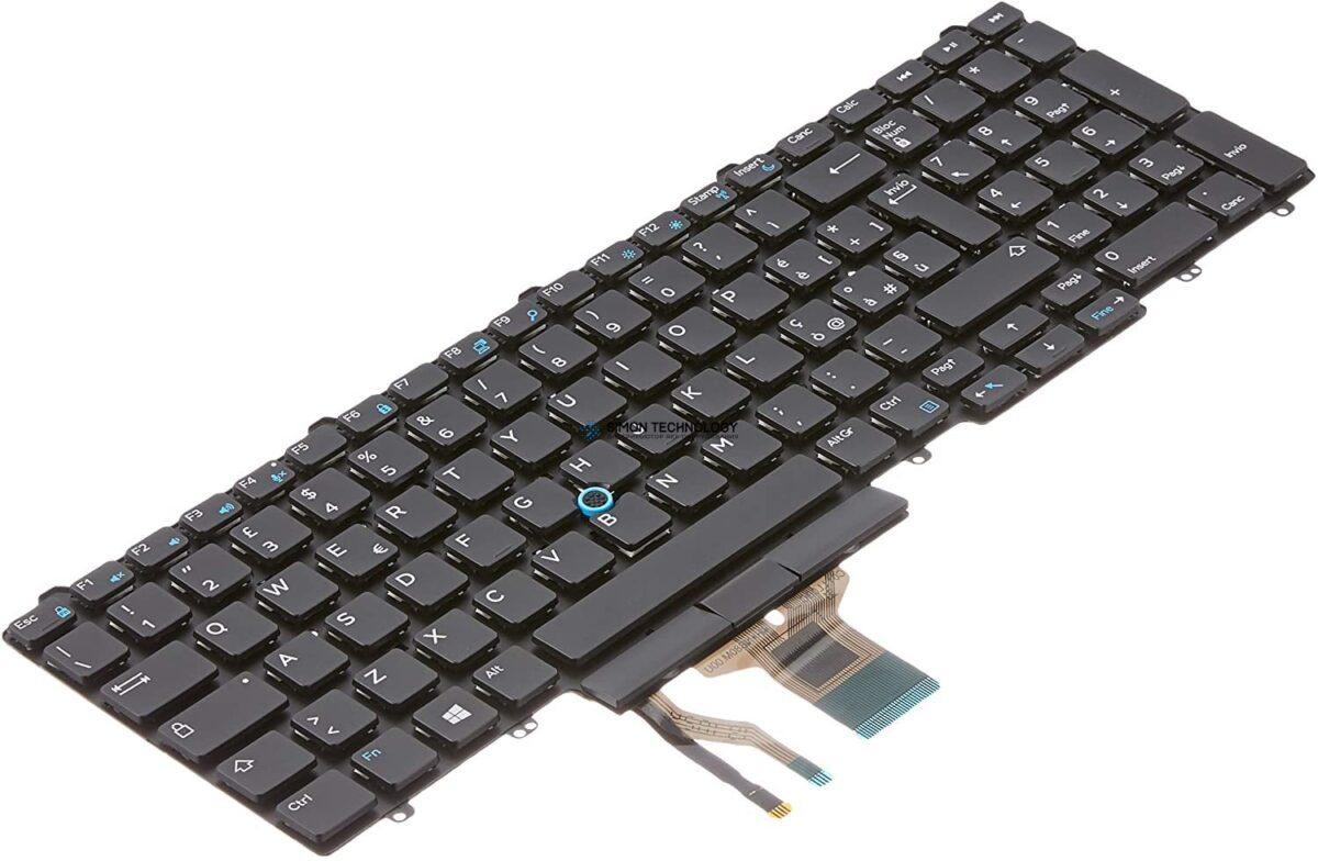 Клавиатура Dell Dual Pointing - Ersatztastatur Notebook (5YWV7)
