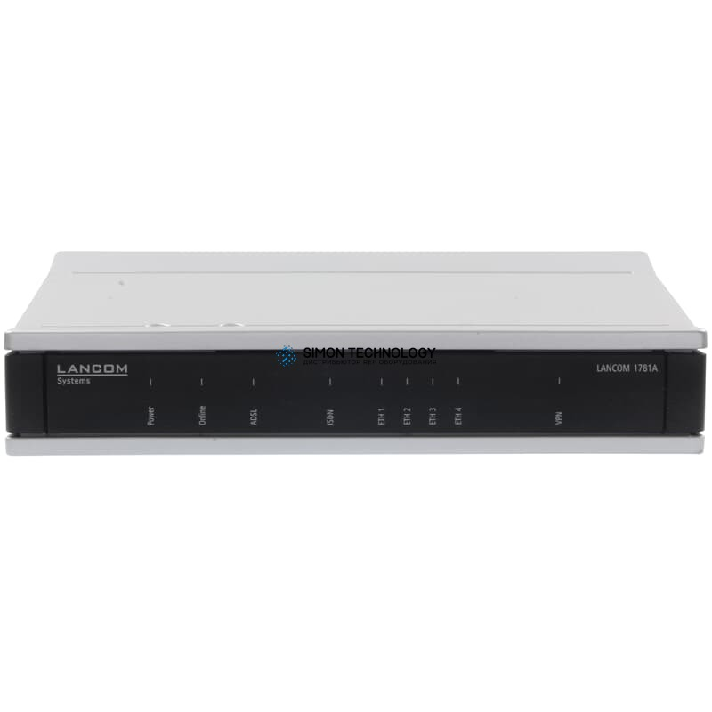 Маршрутизатор Lancom VPN-Router 5x IPSec-VPN 1x ADSL2+ 1x ISDN-S0 4x RJ45 - (62012)
